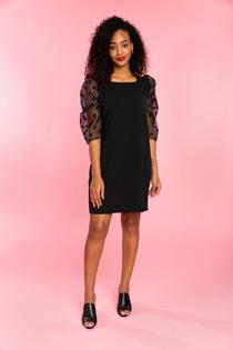 Bexley Dress- Black Dot