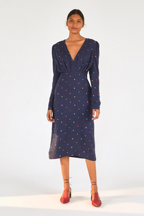 Lucy Dots V-Neck Dress