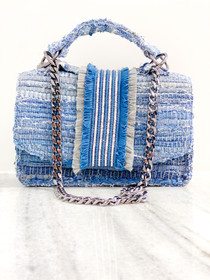 Atina Handbag- Denim