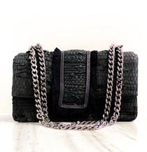 Greta Handbag- Black Leather