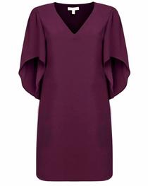 Meredith Dress- Wine Velvet