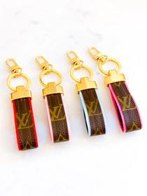 LV Ribbon Keychain- Multiple Colors
