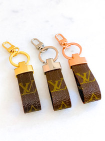 LV Keychain- Multiple Colors