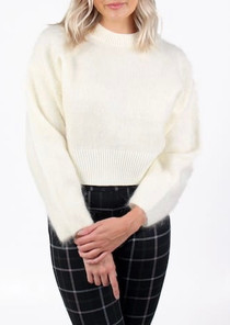 Barrio Sweater- Ivory