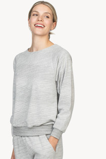 Raglan Sweatshirt- Heather Grey