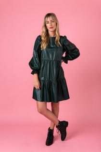 Kirby Dress- Evergreen