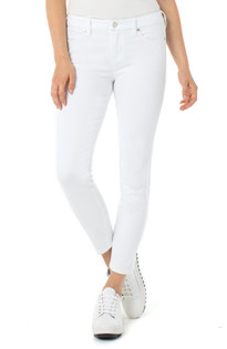 Abby Ankle Skinny Jean- Bright White
