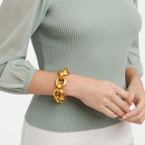 Cassis Link Bracelet Gold