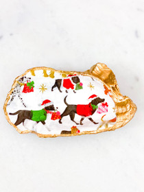 Oyster Shell- Special Delivery Christmas Dogs