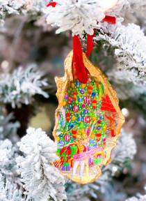 Oyster Shell Ornament- Nutcracker Ballet