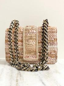 Small Greta Handbag- Rose Gold