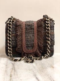 Small Greta Handbag- Chocolate Brown