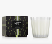 3-Wick Candle- Bamboo