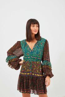Mix Mini Prints Dress