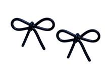 Black Bow Studs