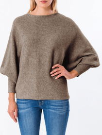 RYU Sweater- Dark Taupe