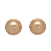 Classic 12mm Button Stud- Gold