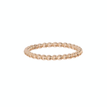Classic Gold 2mm Bead Ring