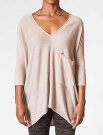 Raven Top- Light Taupe