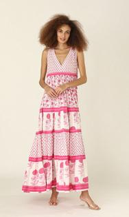 Chennai Long Dress- Nuni Pink