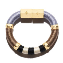 Colorblock Bracelet- Neutral