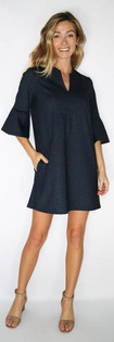 Kerry Dress- Navy Denim