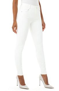 Gia Glider Skinny- Bright White