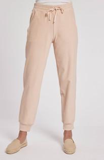 Lounger Jogger Pant- Adobe Pink
