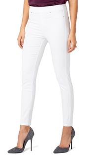 Chloe Ankle Skinny Jean- Bright White