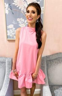 Libba Dress- Candy Pink