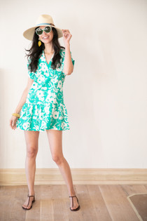 Lucy Dress- Jade Floral