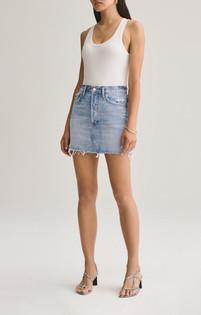 Quinn High Rise Mini Skirt- Swapmeet