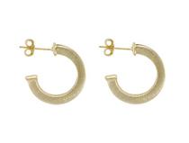Bianca Hoop Earrings- Gold