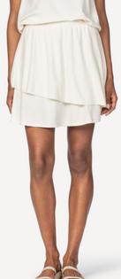 Tiered Skirt- Sand