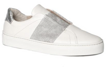 Commuter Slip-On Sneaker- Silver