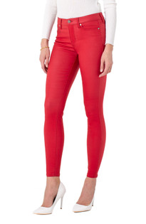Abby Skinny Jean- Deep Red