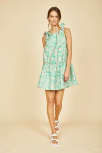 Griffin Dress- Caribbean Green