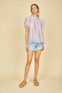 Blair Top- Sweet Lilac