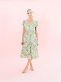 Monroe Midi Dress- Monet