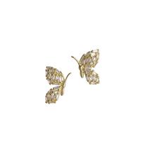 Petite Garden Butterfly Studs