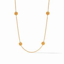 Colette Station Necklace- Gold