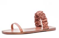 Lara Scrunchy Sandal- Honey