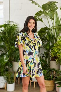 Isla Dress- Exotic Tropics