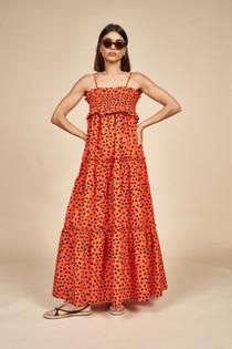 Reese Dress- Desert Poppy