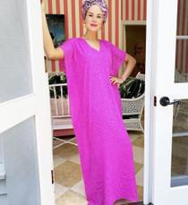 Erin Dress- Pink Animal Print
