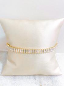 Emerald Cut Tennis Bracelet