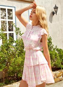 Renala Dress- Cool Whip