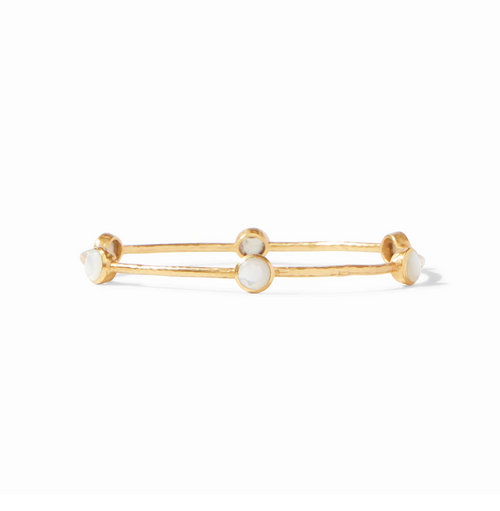 Milano Bangle- Mother of Pearl