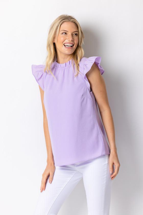 Penelope Top- Lilac