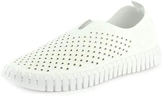 Tulip Slip-On Shoe- White